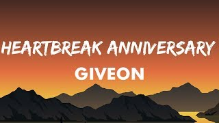 Giveon - HEARTBREAK ANNIVERSARY (Lyrics) | Album TAKE TIME | Balloons Are Deflated