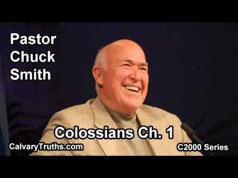 51 Colossians 1 - Pastor Chuck Smith - C2000 Series