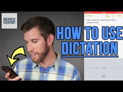 How To Use Dictation On IPhone