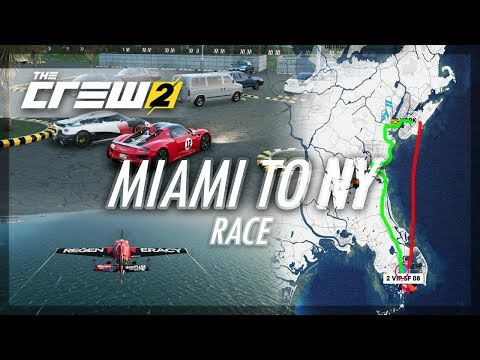 The Crew 2 - Miami To NY Race! (Plane Vs Car)