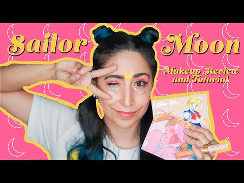 🌙 Sailor Moon ColourPop Unboxing, Review & Tutorial 🌙 GIVEAWAY CLOSED