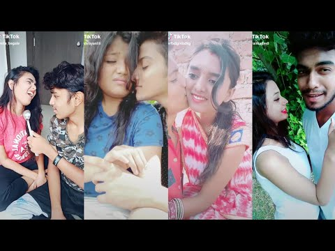 Gf Bf Love Romance || Girlfriend Boyfriend Ka Pyaar || TIKTOK HOT VIDEO