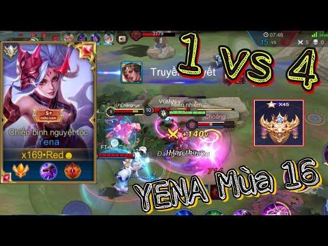 [TOP.1 YENA] Yena mùa 16 không hề yếu như bạn nghĩ nếu bạn xem xong video này| Liên Quân Mobile