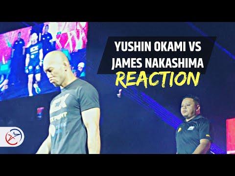 yushin-okami-vs-james-nakashima-fight-result-and-reaction-|-one-dawn-of-heroes