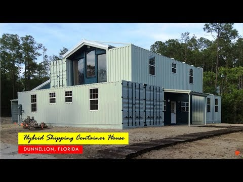 4000 Sqft. Hybrid Shipping Container Home in Dunnellon, Florida