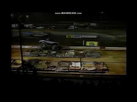 Clydesdale Crash Hagerstown Speedway 1988