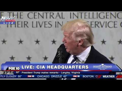 FULL SPEECH: Donald Trump CIA Headquarters Statement FNN