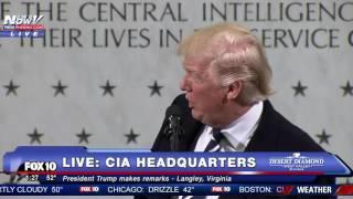 FULL SPEECH: Donald Trump CIA Headquarters Statement by : FOX 10 Phoenix
