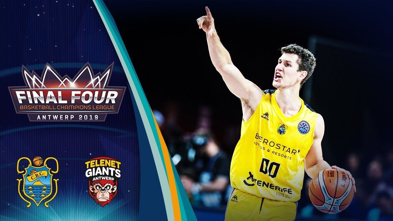 Iberostar Tenerife v Telenet Giants Antwerp - Highlights - SF - Basketball Champions League 2018