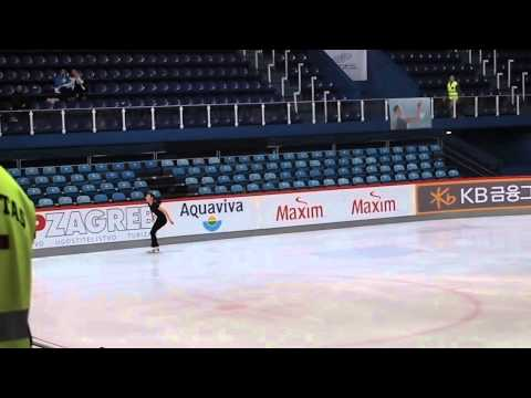 Adios Nonino - Yuna Kim 2013 Golden Spin of Zagreb Offical Practice