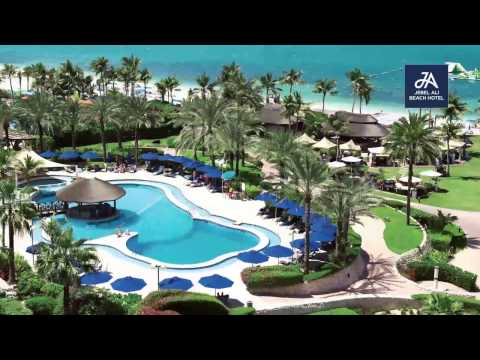 JA Resorts & Hotels Video Film Dubai JA Jebel Ali Beach Hotel  - JA Palm Tree Court