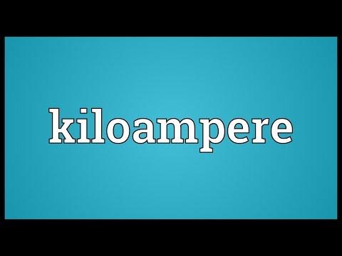 Header of kiloampere