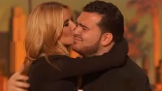 Charming Sal Gets A Kiss From Heidi!