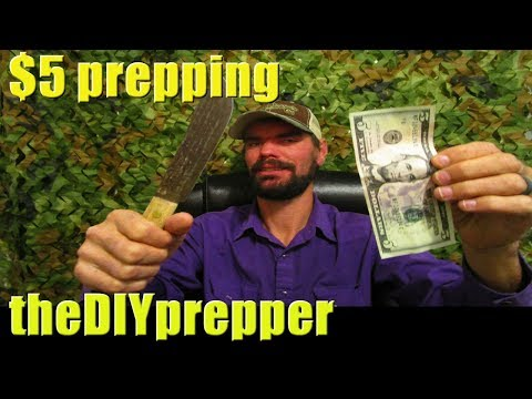 $5.00 Prepping on a budget for shtf Ep2-With End Bonus! budget prepping