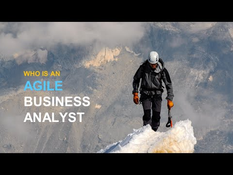 Agile Business Analyst - An Introduction