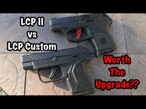 Ruger Lcp Ii Vs Lcp Custom