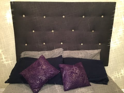 HOW TO: DIY Tufted Headboard (Fast, Custom & Inexpensive)