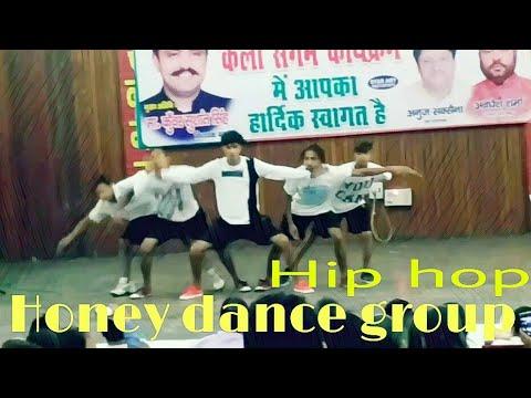 Hip hop dance / / honey dance group //by honey