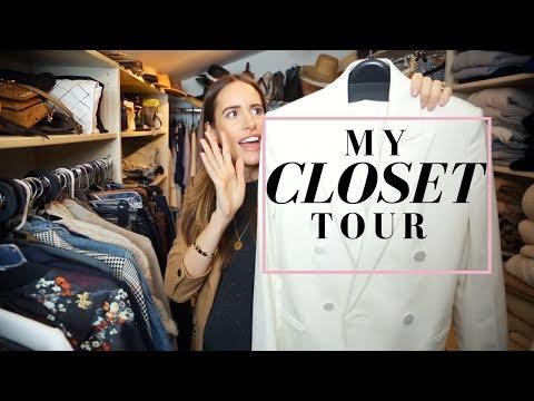 My Closet Tour! My Dream Wardrobe & Organization Tips