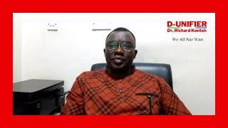 Dr. Richard Konteh (D-Unifier) break his silence!