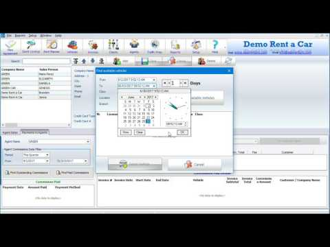 Easy Rent Pro - How to Manage Agents- Car Rental Software