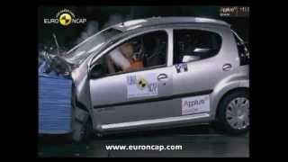 Euro NCAP _ Citroen C1 _ 2005 _ Crash test