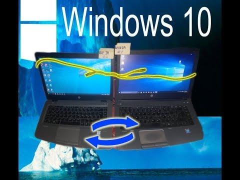 Copiar archivos Pesados entre 2 computadoras con cable de Red - Windows 10 (Suscríbete =)