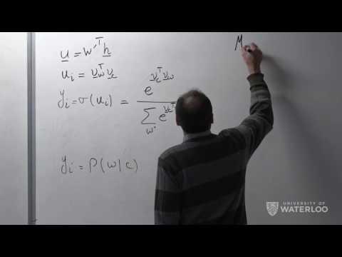 Ali Ghodsi, Lec 13: Word2Vec Skip-Gram