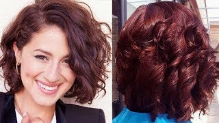 35 Short Curly Haircut for Women - The Right Curly Hair Haircut for Women