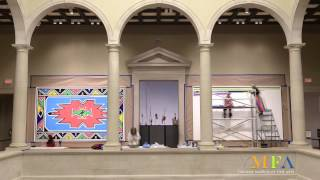 Time-lapse of Esther Mahlangu @ VMFA