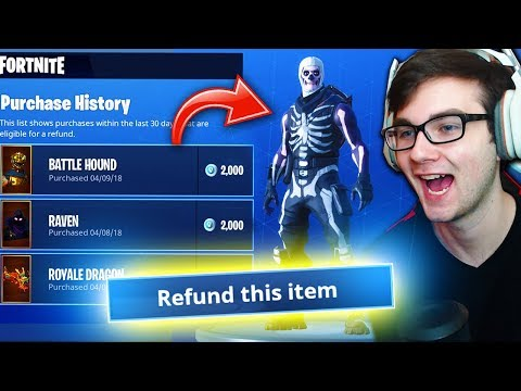 How To RENT ANY SKIN In Fortnite! (NEW REFUND SYSTEM LOOP HOLE Coming!)