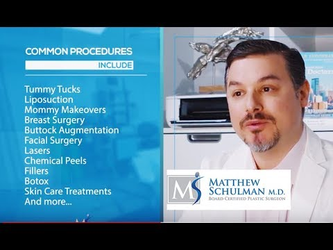 Learn About Matthew Schulman, M.D., New York City Plastic Surgeon - Schulman Plastic Surgery