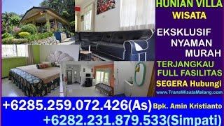 Villa Songgoriti Murah, Homestay In Indonesia, Hotel Malang, +6282 231 879 533