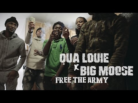 Qua Louie f. Big Moose - Free The Army | Shot by @BmarFamous