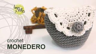 Tutorial Monedero Crochet o Ganchillo