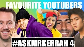 MY FAVOURITE YOUTUBERS | Q&A thumbnail