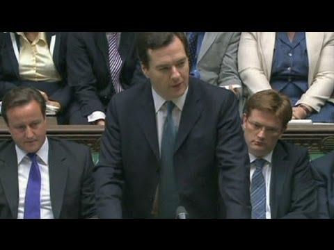 Дефицит британского бюджета растет