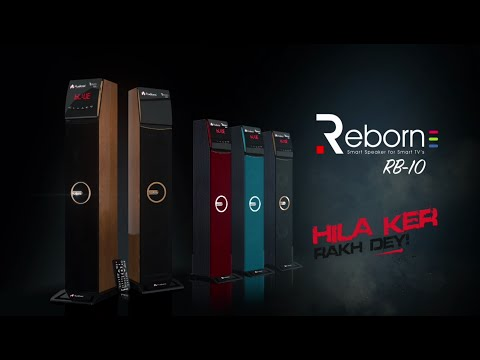 Reborn RB-10 Reborn Series (Colorful Wireless Bluetooth Home Theater Speakers)
