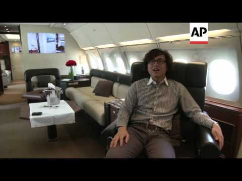 Luxury jets in demand in China