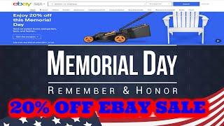 20% OFF Memorial Day Weekend S…