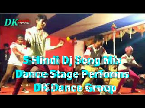 New Dance Hindi Mix Song Stage Performs@Bawria Bhita&Korhaibil.presented By DK Media