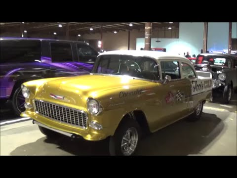 1955 Chevy Gasser Fools Gold Youtube