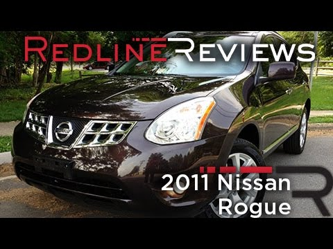 2011 Nissan Rogue Review, Walkaround, Exhaust, & Test Drive