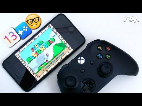 How To PLAY SUPER NINTENDO On iOS 13 With A XBOX ONE Or PS4 CONTROLLER (NO JAILBREAK)