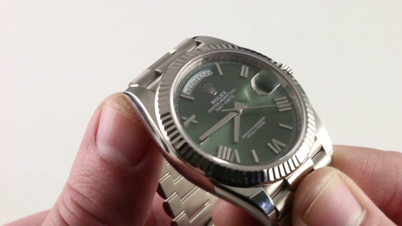 Rolex Day Date 228239 Luxury Watch Review