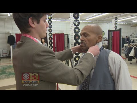 Charity Helps Baltimore Men Improve Their Futures With Donated Suits