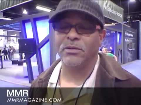 MMR at NAMM 2012 Lincoln Berridge   Dibs Pro Audio