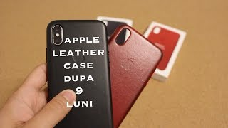 Apple leather case - review