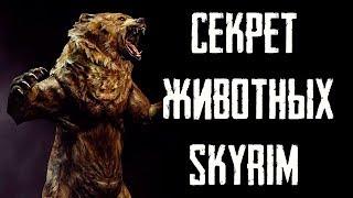 Skyrim - СЕКРЕТ ЖИВОТНЫХ В СКАЙРИМЕ!