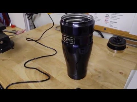Thermos Stainless King 16-Ounce Travel Tumbler - YouTube
